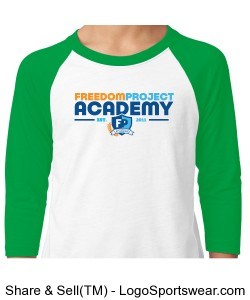 FPA BASEBALL TEE GREEN Design Zoom