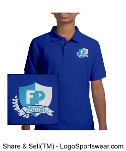 FPA Polo Royal *Embroidered Design Zoom