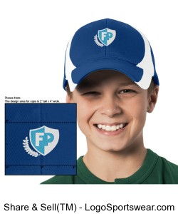 FPA Baseball Cap Royal *Embroidered Design Zoom