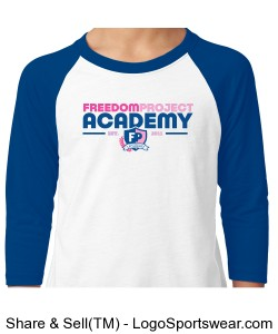 FPA BASEBALL TEE BLUE Design Zoom