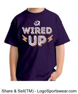 FPA WIRED UP TEE PURPLE Design Zoom